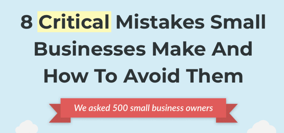 clarify capital small business mistakes