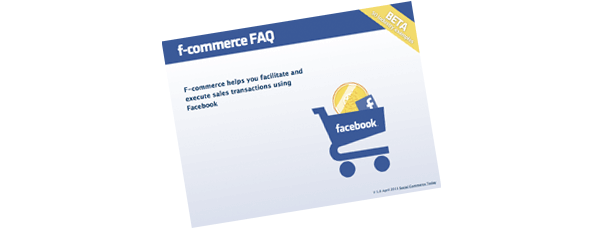 Facebook commerce FAQ