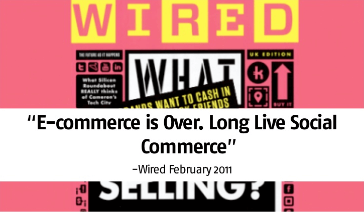 wired magazine: social commerce
